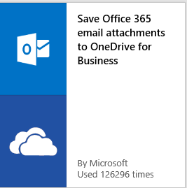 Microsoft Flow Saving Email to OneDrive for Business